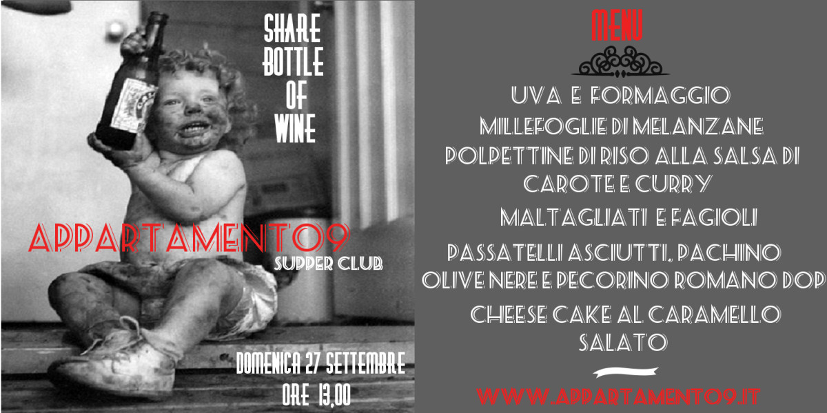 Appartamento9_supper_club_roma_evento Share_bottle_of_wine